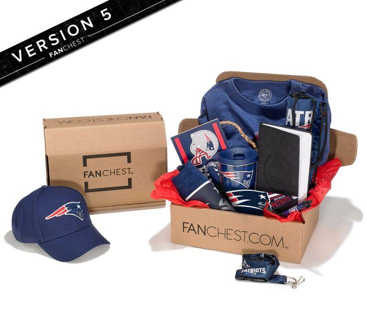 Patriots Gift Box | Version 5 Patriots FANCHEST | Patriot Gear & Merch • FANCHEST