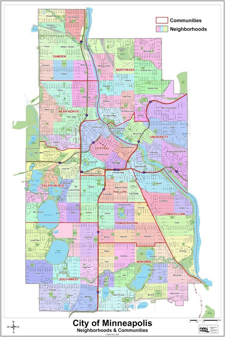 Minneapolis neighbourhoods Minneapolis neighborhoods