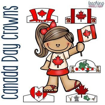 Celebrate Canada Day with these easy to make fun Canada Day crowns. It's a great crafitivity to engage young children and get them excited about celebrating Canada Day! 20 options available.