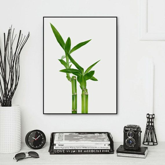 Lucky Bamboo Digital Painting by TranquilArtist on Etsy
