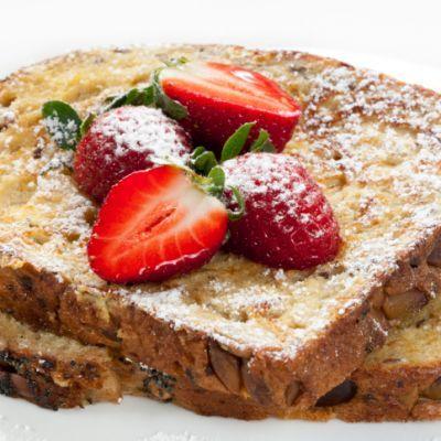 Diabetic Friendly Strawberry French Toast