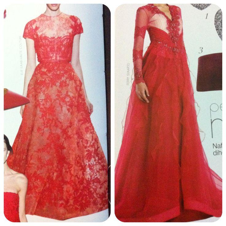 Red ❤️ #kebaya #dress #inspiration