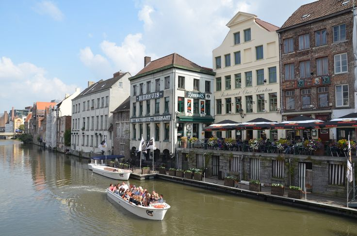 Website of visiting Belgium