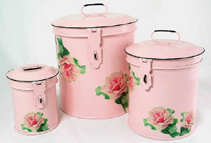 pink kitchen canisters pink canister set kitchen storage canisters decorative roses containers canister sets 3605