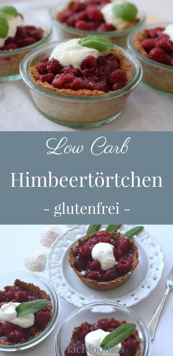 low carb himbeer toertchen torte beeren glutenfrei rezept deutsch fiberhusk flohsamenschalenpulver