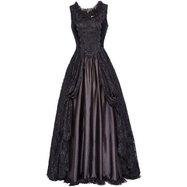 Fashion Steampunk Victorian Punk Prom Dresses Gothic Costumes BP378-1... ($46) ❤ liked on Polyvore featuring costumes, gothic costumes, womens victorian costume, punk rock costume, goth halloween costumes and steam punk costume