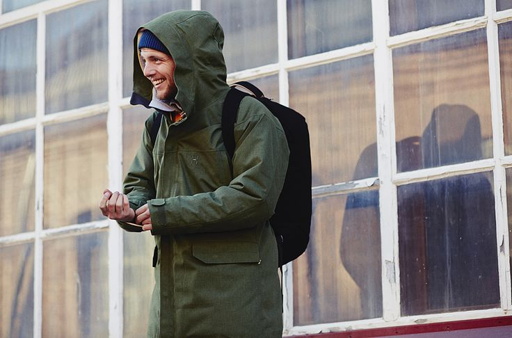 The Haglöfs Siljan Parka, a waterproof and insulated ...