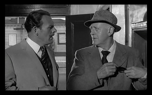 Terry Thomas with Alistair Simm, both bloody legends!