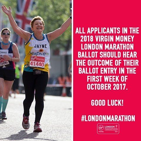Remember public ballot results for the 2018 London Marathon will be revealed during the first week of October.   Have you applied? And if you are lucky enough to get a place and would like to support GBSS we'd love to have you with us. Let us know.... #London #LondonMarathon #fundraising #fundraisingevent #marathon #running #pushingboundaries #pushinglimits #getinvolved