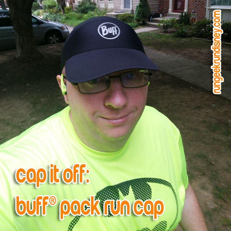 how to wear a buff for running