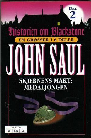 """""""Skjebnens makt - medaljongen"""" av John Saul"""