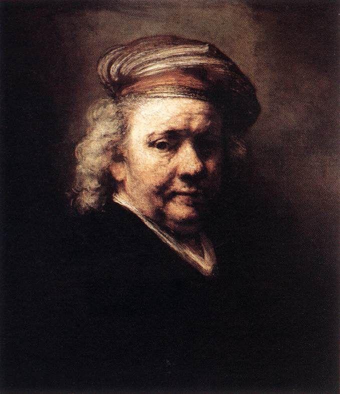 렘브란트 자화상(1669년)