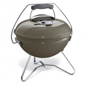 WEBER Smokey Joe Premium Portable Charcoal Kettle BBQ in Smoke