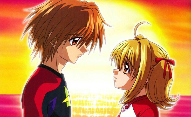 Uno de mis grandes animes de mi infancia. Quien no recuerda ese gran amor entre Kayto Domoto y Luchia Nanami? Estrenada en el 2002 y finalizada en 2005 Comparte y like si eres de los 90 y con 9 añitos descubriste esta pedazo de serie y disfrutaste de esta historia de amor entre un humano y una sirena