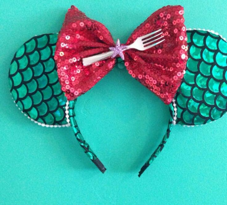 The Little Mermaid/Ariel - Minnie Mouse Inspired Disney Ears