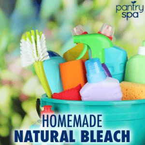 Make Your Own Natural Homemade Bleach Alternative Recipe That Is Cheaper Safer And Smells Like