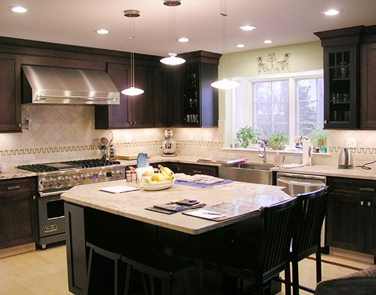 new construction kitchen in west hartford connecticut designed by john vecchio with kitchen on c kitchen design id=30322