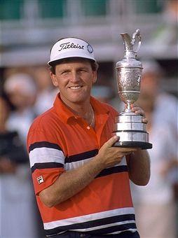 Mark Calcavecchia from Laurel Nebraska won 13 PGA Tour events, including the 1989 British Open Championship.