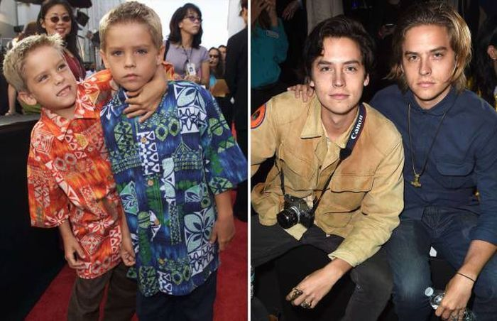 Sprouse Twins Family
