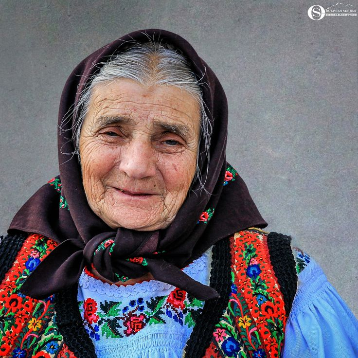 Old Lady... - Old lady in Maramures
