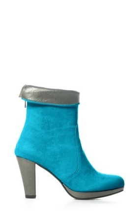 Boot Short City Turquoise/Bronze by Colette Sol