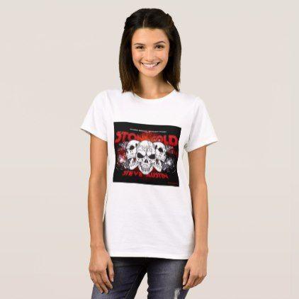 Stone Cold Steve Austin T-Shirt  $20.05  by Katy_Whitehead  - cyo customize personalize diy idea