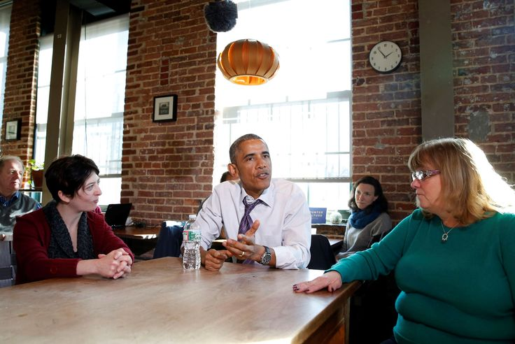 President Barack Obama talks about legislation to offer paid sick leave - Larry Downing/Reuters