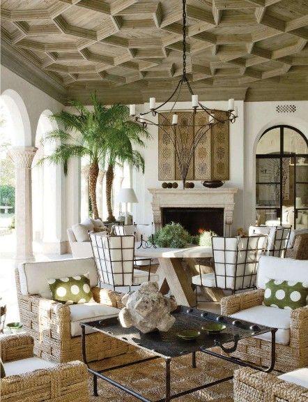 Richard Hallberg Interior designer and architect William Hablinski designed this exotic and stunning Moorish-inspired home in the desert of Southern California