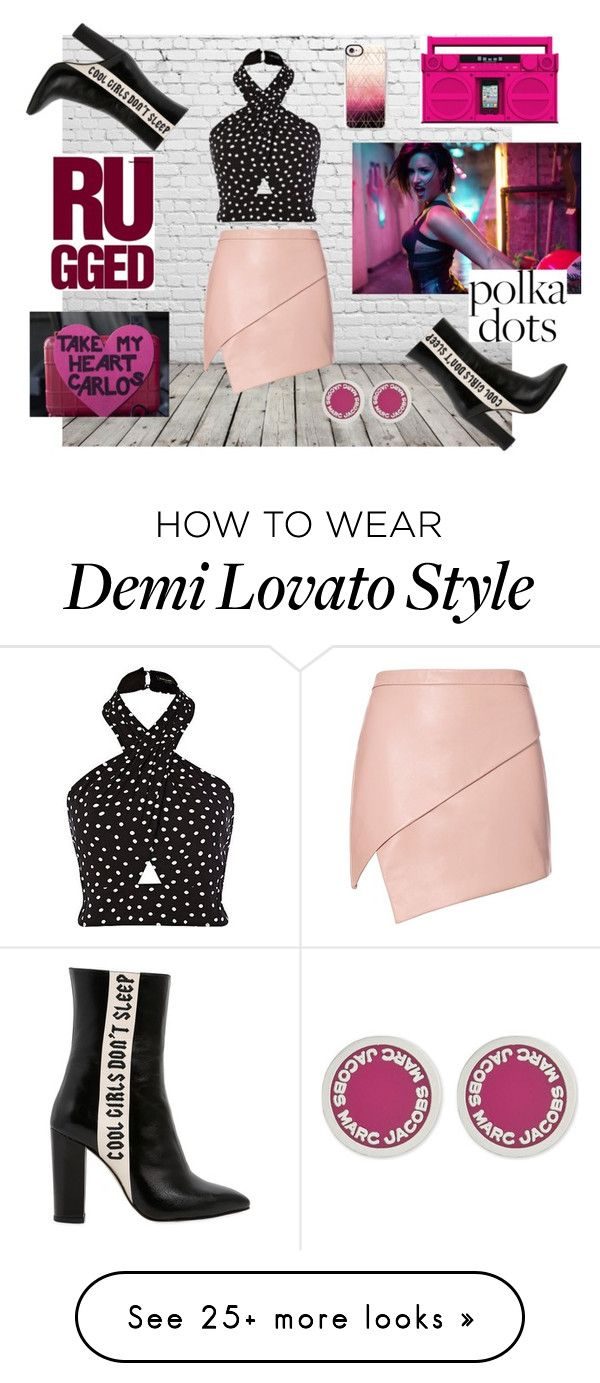 """Makes me feel"" by ira-malakhova on Polyvore featuring Michelle Mason, Havva, Marc Jacobs, Casetify and PolkaDots"