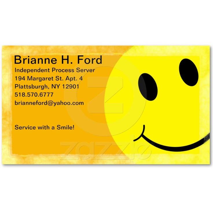 Excellent Process Server Business Cards Photos - Business Card Ideas ...