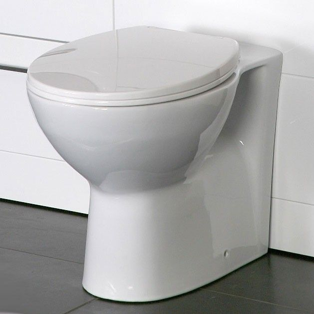 Tampa Back To Wall Toilet Pan with Soft Close Seat