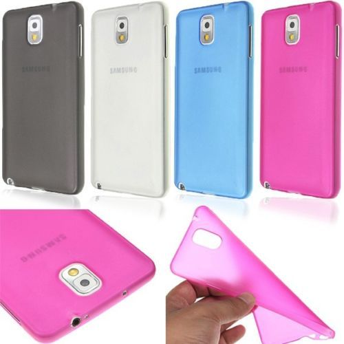 Case-Cover-For-Samsung-Galaxy-S5-Snap-On-Soft-TPU-0-3mm-Ultra-Thin-Clear-Matte