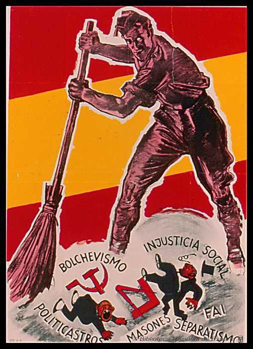 Posters from the Spanish Civil War | Retronaut