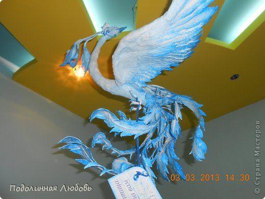 Мастер-класс Скульптура День семьи Лепка Птица Счастья в моих руках то есть своими руками Гипс фото 1