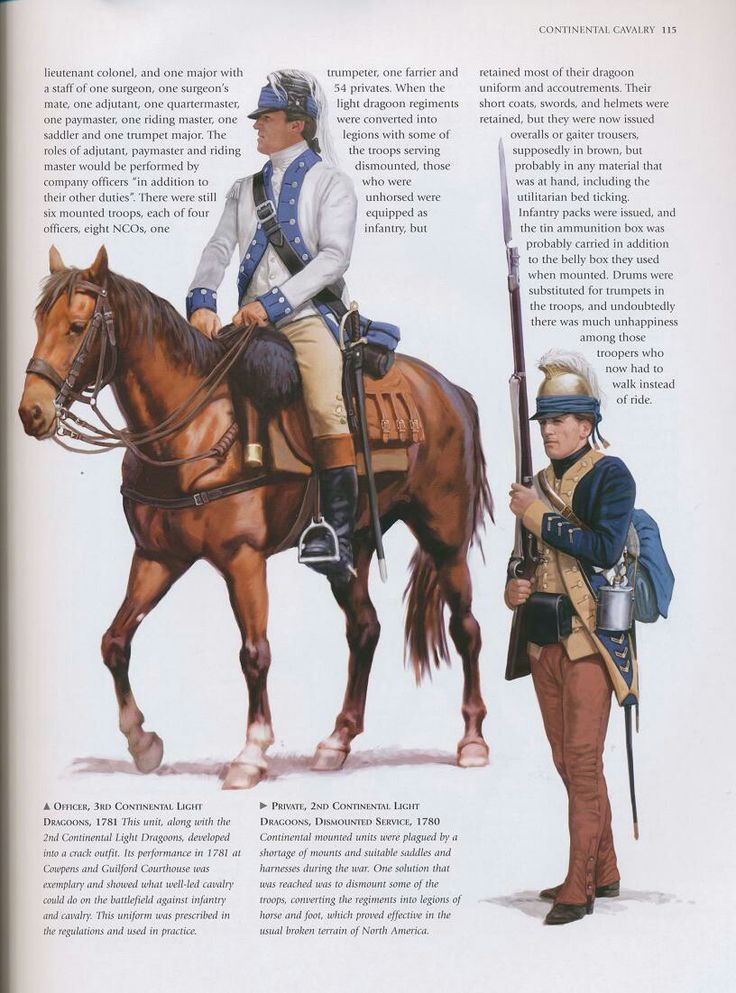 Continental Army: Dragoons_2
