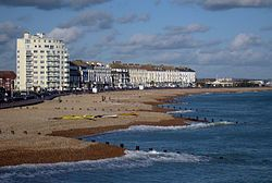 Eastbourne.  Vastly underrated.. for a wonderful old-fashioned English summer-seaside experience