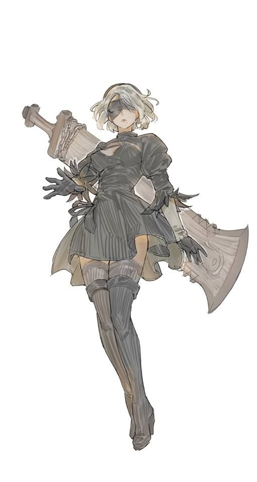 Character Design Nier Automata : Best 《game》 nier automata images on pinterest adobe
