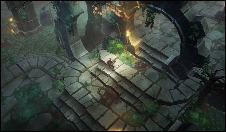 Some work I did as Lead Environment Artist on the ARPG Torchlight 2 at Runic Games.