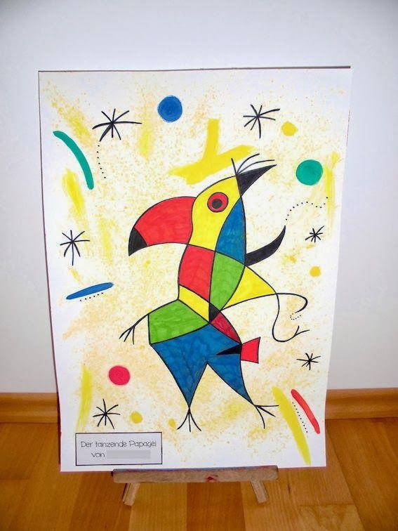Der singende Fisch - Joan Miró   materialwiese