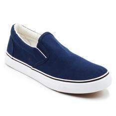 Faster Sepatu Sneakers Kanvas Wanita 1603-06 - Navy/Putih