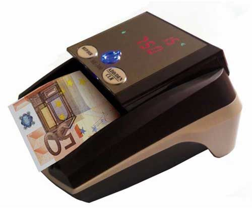 Detector de billetes are available in online stores. These machines will help you to identify fake currency. They are also highly portable.