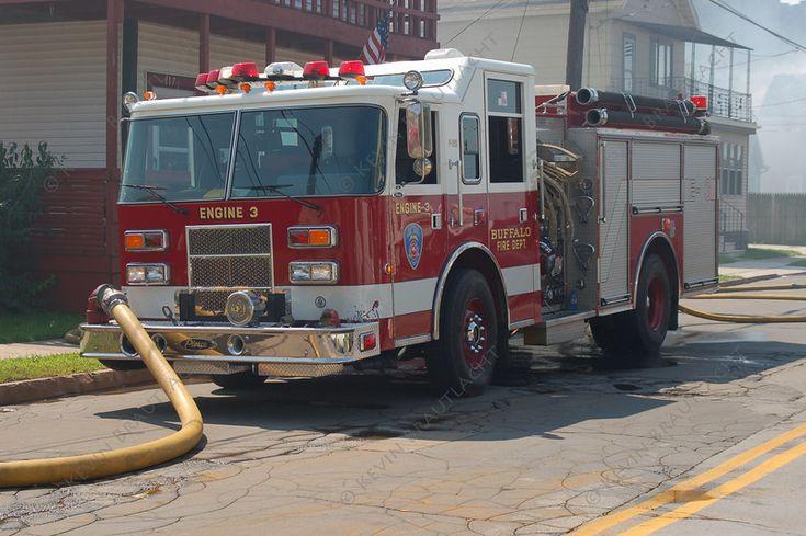 Engine 3 pierce buffalo fire department fire department