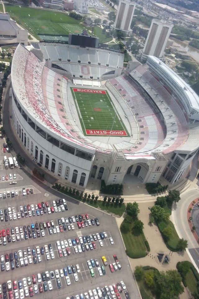 Ohio State College Football field - Fits a 100 000 people!