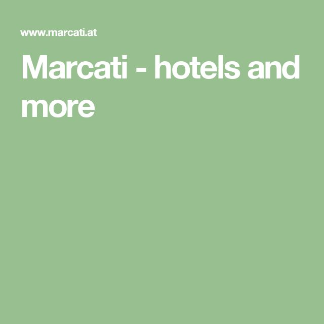 Marcati - hotels and more