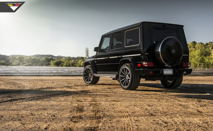 Mercedes-Benz AMG G63 on Vorsteiner Sport Race VSR-163 Wheels, available to order now from Scuderia Systems.