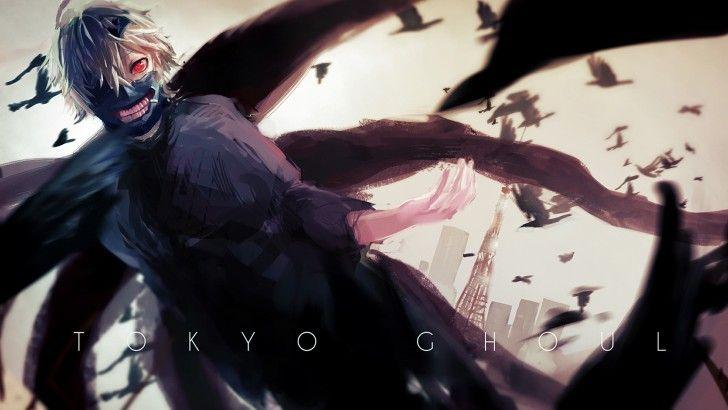 Ken Kaneki Kagune Mask White Hair Wallpaper HD