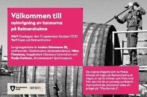 vinjournalen.se -   : Mingel, pompa & ståt när de gamla spritfaten är tillbaka på Reimersholme |  Den 13 september firas att de gamla faten från den lokala spritfabriken är upprustade och tillbaka på Reimersholme. Södermalms stadsdelsförvaltning har restaurerat de gamla spritfaten vid promenadstråket längs Reimersholmskajen och den 13 september invigs upprustningen. Faten härstammar från... https://www.vinjournalen.se/nyheter/2017/09/11/mingel-pompa-stat-nar-de