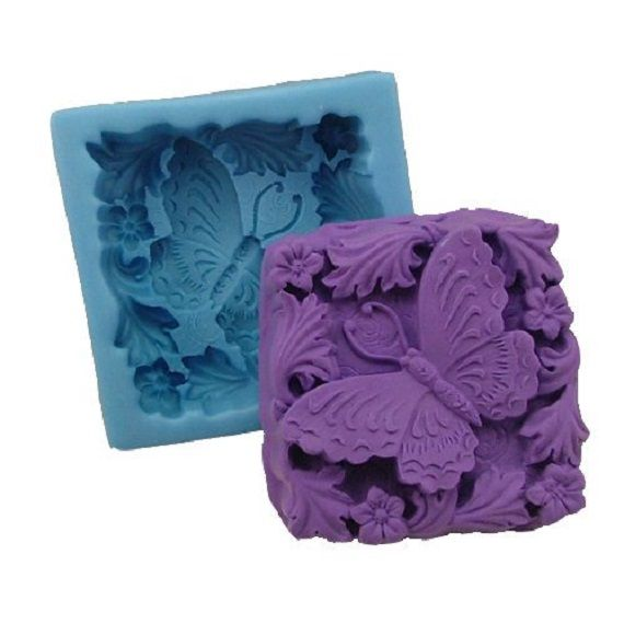 BUTTERFLY- SHEA BUTTER, COCOA BUTTER, GOAT'S MILK, AND HONEY SOAP.