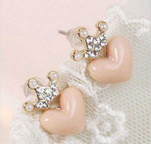 Princess Love Earrings from P.S. I Love You More Boutique