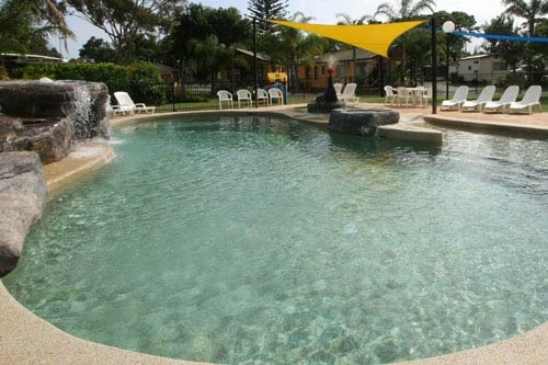 Resort style pool - BIG4 Harrington Holiday caravan and camping park